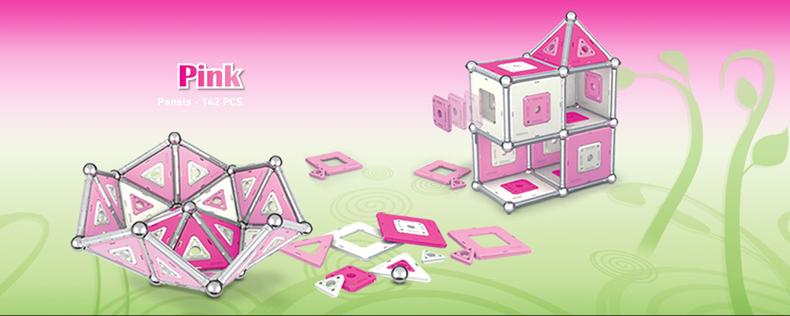 【GEOMAG】数検2級に史上最年少で合格したスーパー小学生 高橋洋翔くんが使っていたということで、有名になった知育玩具!ピンク