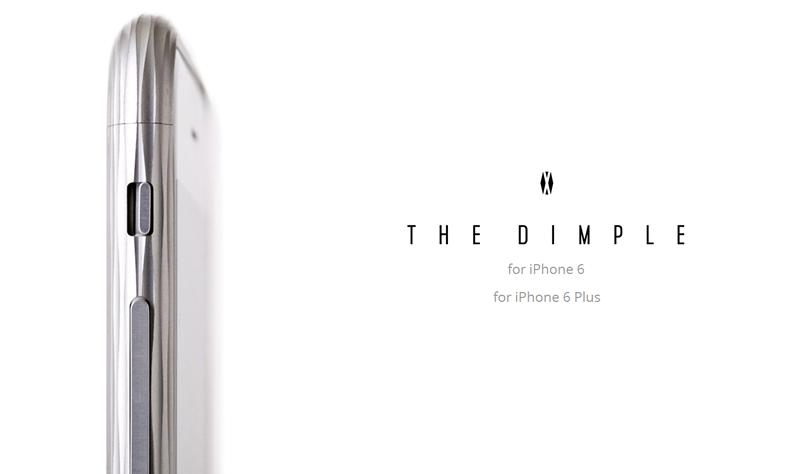 iphone6 i-phone6 Plus 専用ケース TVでも紹介 人気  The Dimple(ザ・ディンプル) 超々ジュラルミンA7075